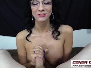 ConorCoxxx-POV handjob from your teacher Jessica Chase