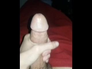 A Late Night Jerk Off With A New Cum Shot For You To Enjoy
