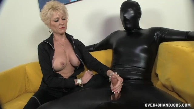 Ebony mature women 40 and over The big titted granny keeps everything in control short