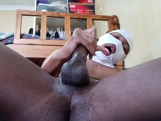 Trying To Eat Cum