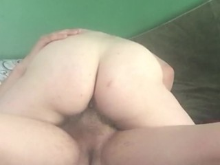 Getting Filled With Hot Cum Big Dick Riding