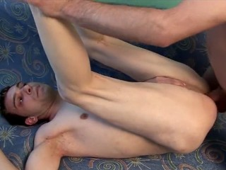 TIGHT RUSSIAN BOY HAS HIS HOLE FILLED WITH COCK