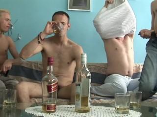 Gay orgy...