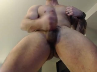 Logan Chase dances, strips, and cums