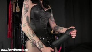 You're Mistress Petra's Horny Anal Slut!