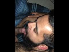 College hairy Indian sucks off high school black friend