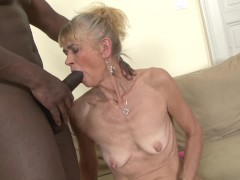 - Granny fucked hard in her ass by black guy she gets creampied/><br/>                         <span class=