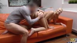 HUNT4K. Nikki Dream has proper sex for money in front of her bf