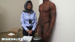 MIA KHALIFA - My Experiment Comparing Black Dicks to White Dicks Shaved pierced
