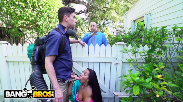 Spall naked Bangbros - horny priya price fucks the gardener behind her husbands back