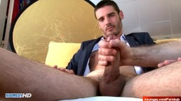 Eric handsome str8 salesmale in a porn in spite of him !