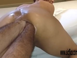 Double anal fisting and bizarre insertions amateur...