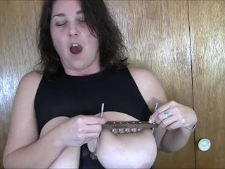 Torture titten Brutal tit