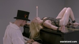 BDSM For Bound Blonde With Fisting And Fetish