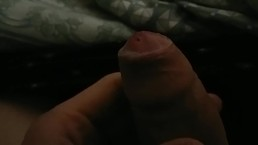 jerking foreskin and precum