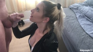 Black Widow sucks out 4 loads of cum in a row! Is she satisfied?  infinity war black widow cums four times avengers xxx parody babe catsuit amateur young superhero swallow eyes cums twice eye contact cums three times comic book avengers