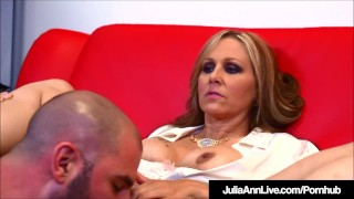 Busty Milf Julia Ann Bangs Her Student While Tutoring Him!