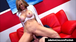 Busty Milf Julia Ann Bangs Her Student While Tutoring Him!