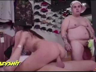 Bit weird but porn is porn i guess...