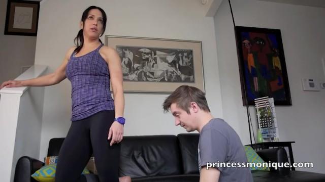 My Slave worships my Sweaty Ass 14