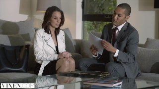 Preview 1 of VIXEN Seductive Real Estate Agent Gets Punished