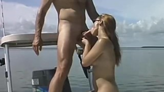 Sunbathing, fishing and fucking