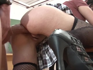 Porn anal adventure real huge cock french high...