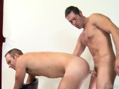 Hairy White Guy Fucked By Sexy Uncut BIG DICK Latino Daddy