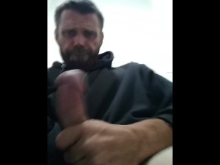 Rocker 2018 jerking off can't cum