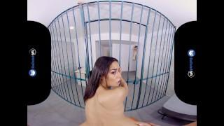 BaDoinkVR.com Reunion In The Jail Cell With Latina Teen Maya Bijou Fingering fuck