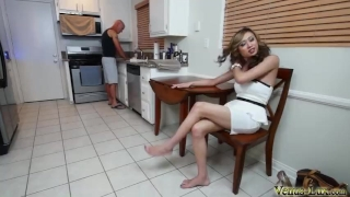 Working Woman Needs to Release A Load
