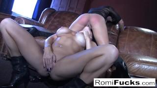 Romi Rain hot lesbian sex porno