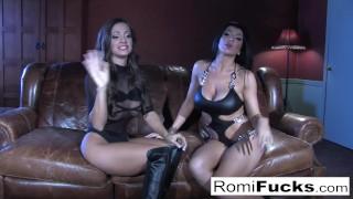 Romi Rain hot lesbian sex Love lesbian