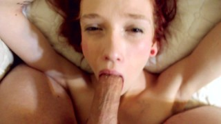 Eye Watering Deepthroat & Face Fuck For A Mouthful Of Cum