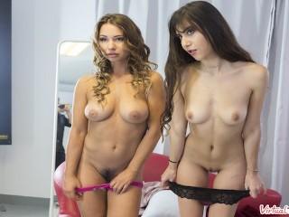 VIRTUAL TABOO - Two Sweet Teen Girls Masturbate Together