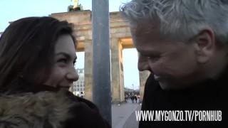 German Lullu Gun gets nailed in a sex van by Dieter Von Stein and Reinhard