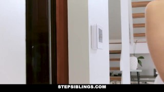 StepSiblings - Horny Step Siblings Get Caught Fucking  step siblings teen skinny teamskeet young harmony wonder stepbro smalltits brunette petite stepsis bigcock teenager step brother step sister