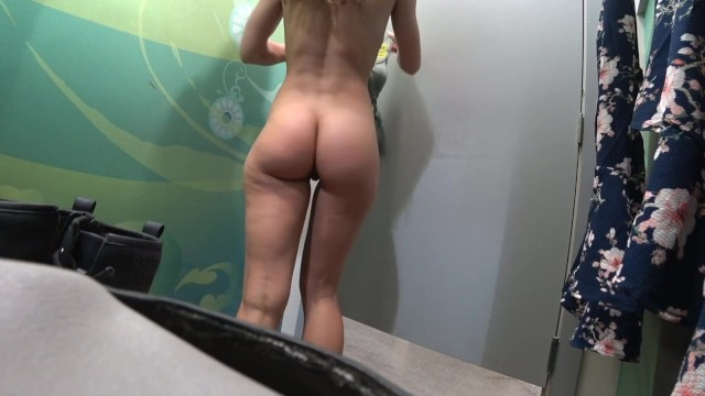Voyeur rtp small breast Changing room voyeur