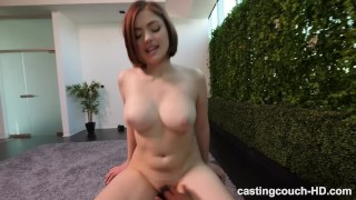 He Came Inside Of Her During A Casting!! Boobs dicked