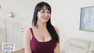 Snow allesandra pov gets creampied by busty jay's photographer milf pervy bj natural