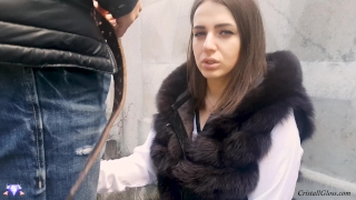 MILF Suck Strangers in Public and Fucks Doggystyle - Cristall Gloss Huge daughter