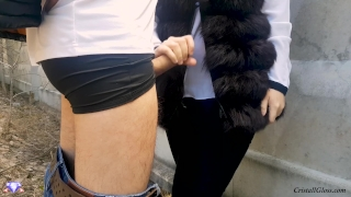 Suck and cristall strangers public fucks doggystyle gloss milf in booty public