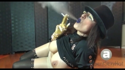 Ash Smoking Webshow, Pantyhose