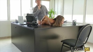 LOAN4K. Blowing cock to get cash for a student trip porno