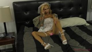 Sarah Jessie - Femdom Wedding - Cuckold & Ass Worship & Foot Worship