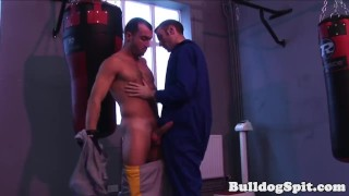 Stud muscular and rimmed gets hardfucked hairy uncut