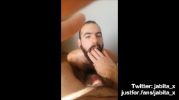 Daddy cums in my mouth/Madurito se corre en mi boca