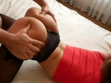 Stepsis ride on fat cock stepbro-homemade