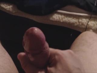 Closeup Cumshot