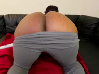 Fucking Herself Made Her BLACK PUSSY POP - Intense SQUIRTING ORGASM - Jade